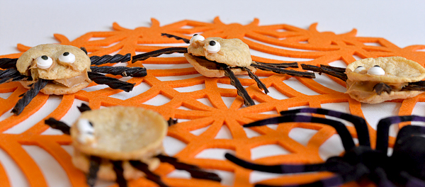 popchips sea salt Halloween Spider bite popwich snacks recipe  (9)