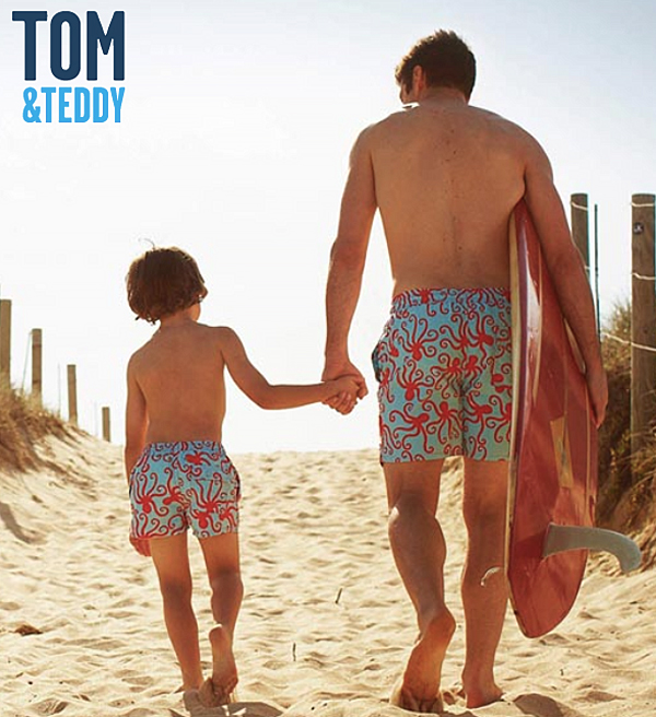 Tom & Teddy beach shorts