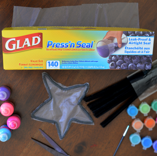 Glad Press N Seal Stained Glass Craft