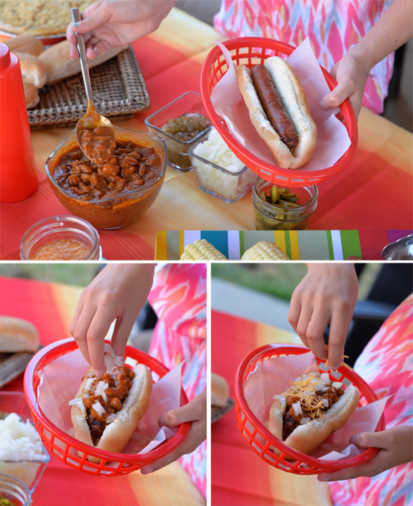 Hebrew National Hotdogs Beef Franks How to make chili dog