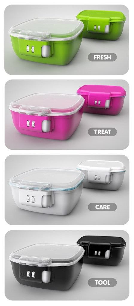 lokables 2 digit safe container