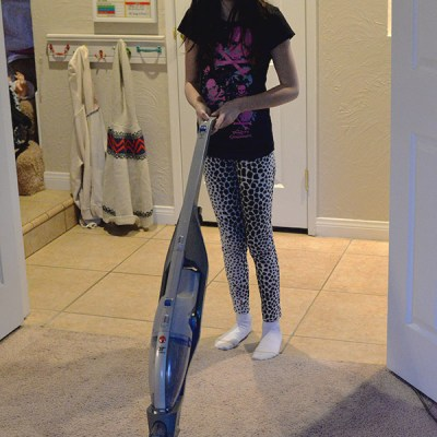 The Hoover Cordless Vacuum Is Great For Our Little Girls Who Want To Help Us Clean Around The House