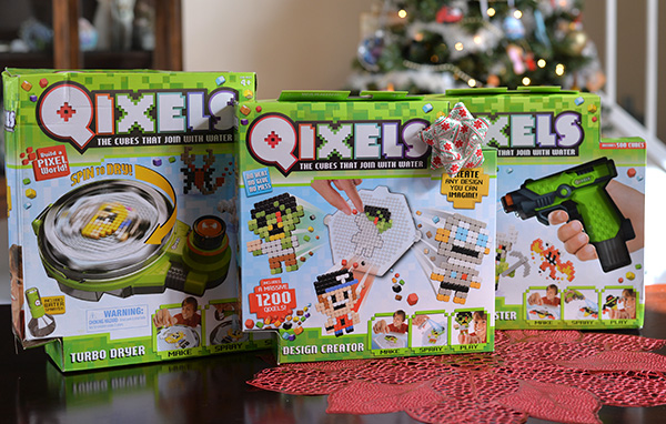 Qixels Cubes Join With Water Gift For Kids Holidays