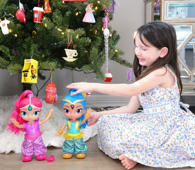 Shimmer and shine genie dance doll christmas gift