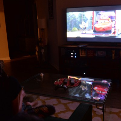At Home Movie Viewing Party With Disney Pixar Cars 3