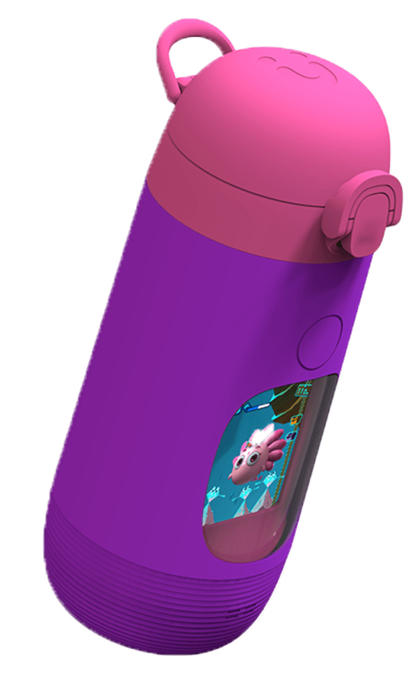 gululu go kids water bottle purple