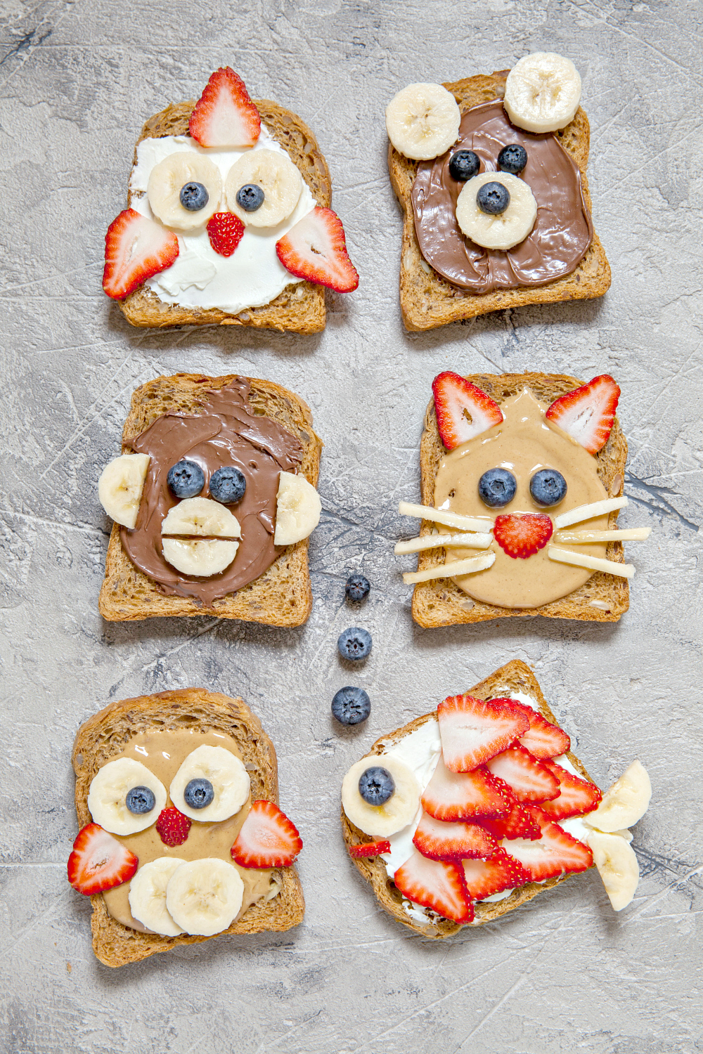 fun breakfast toasts for kids