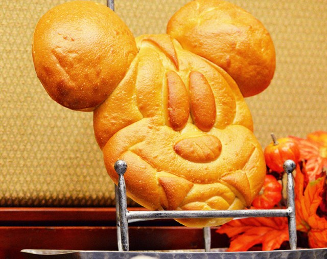 Pacific Wharf Cafe Mickey Bread With Fangs Sourdough Disneyland
