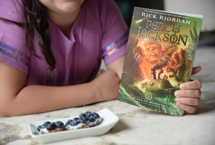 Reading with the Percy Jackson & the Olympians Series This Summer