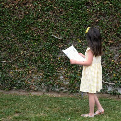 Simple Summer Activities For Kids – Backyard Scavenger Hunt