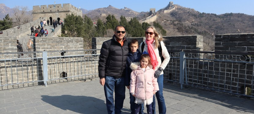 STOP Over (Transit) in China and Great Wall Trip