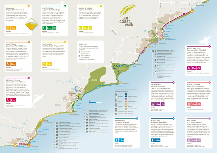 Surf-Coast-Walk-Map