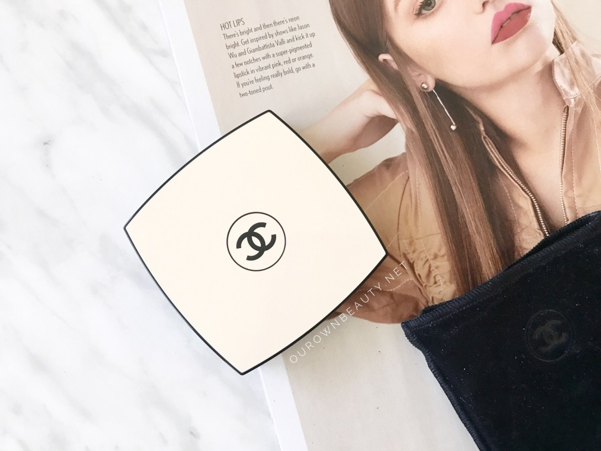 review phấn phủ chanel les beiges healthy glow