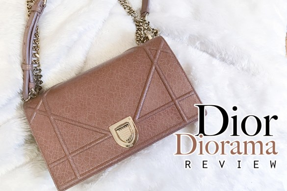dior diorama bag review