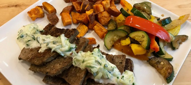 Gyro Meat (Instant Pot, Whole 30)