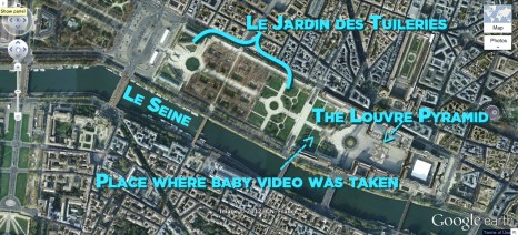 Jardin Des Tuileries Map