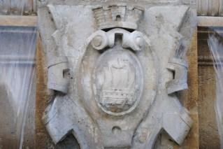 Saint-Sulpice fountain detail