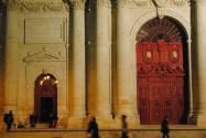 Front of Eglise St Paul St Louis