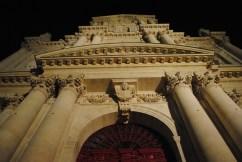 St Paul St Louis Church Nightime