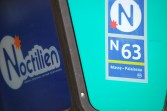Le Noctilien is Parisian's network of night buses