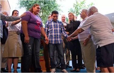 Circle of Sanctuary people