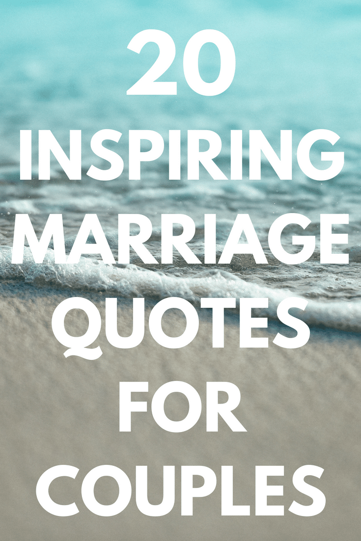 30 inspirational marriage quotes