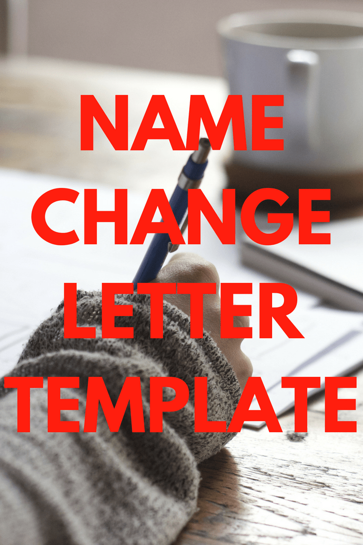 address change letter template