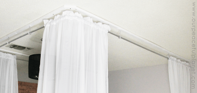 Make An Inexpensive DIY Bed Canopy Our Peaceful Planet