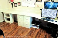 How to Build a Simple Large Surface Home Office Desk