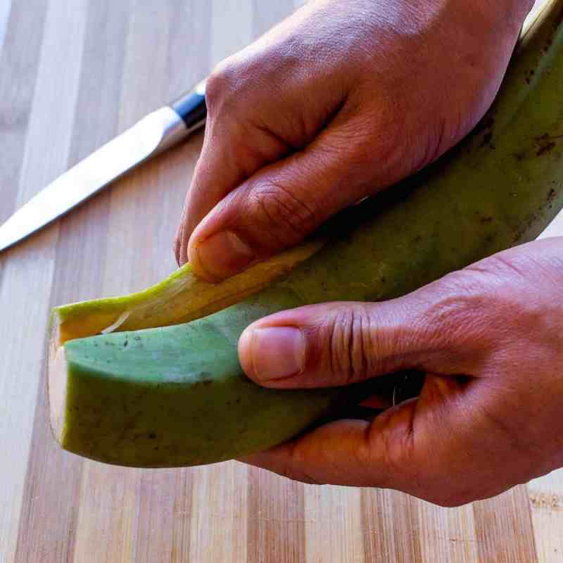 Baked Green Plantains