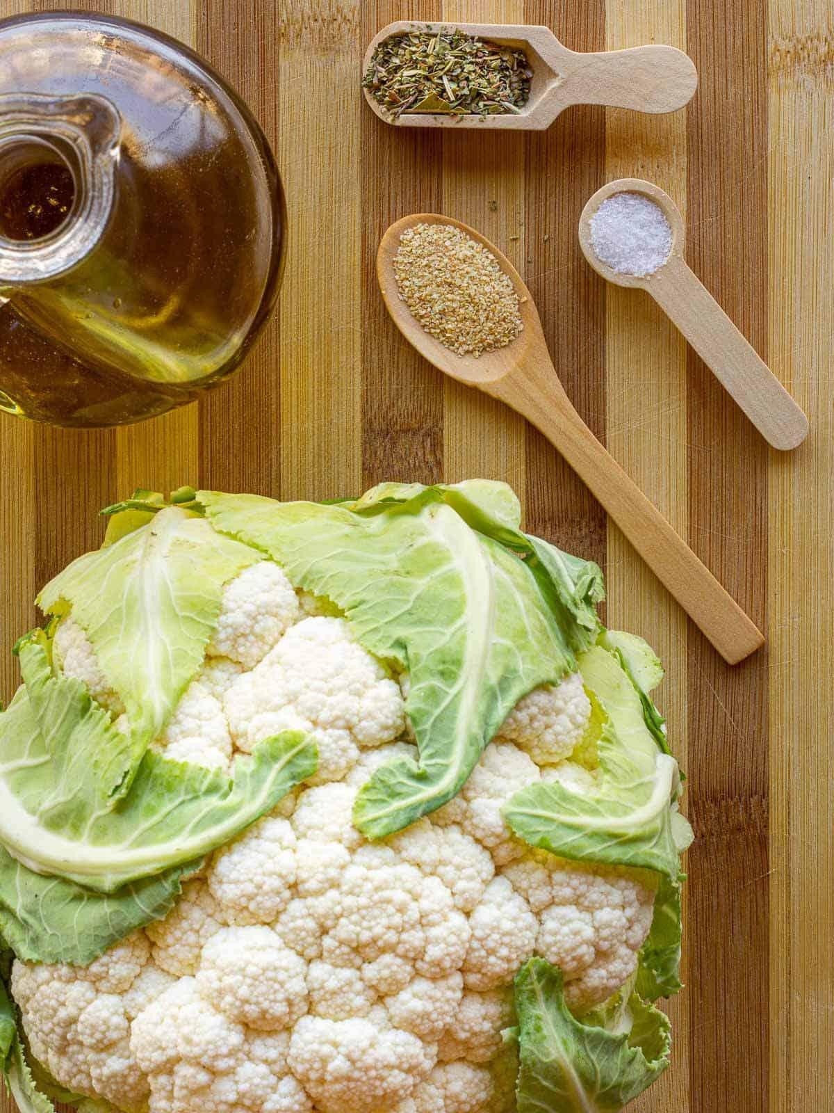 Cauli Rice ingredients oregano