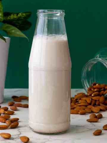 How do you make almond milk