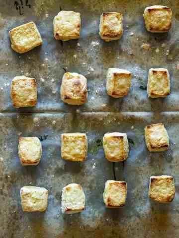 Tofu crujiente