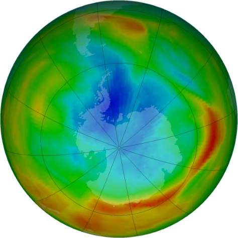 Changing Earth: Ozone Hole, September 17, 1979