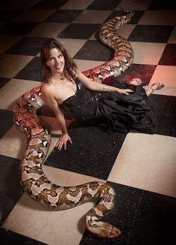 Medusa, the longest snake in captivity