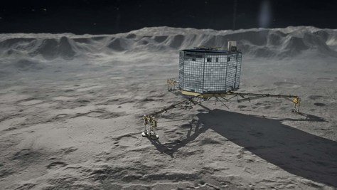 Where Earth's water came from? Philae on Churyumov-Gerasimenko