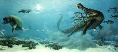 Biggest prehistoric crocodiles No. 4: Rhamphosuchus