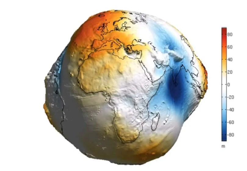 Earth's gravitational field