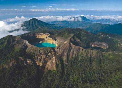 Mount Kelimutu Lakes, Indonesia