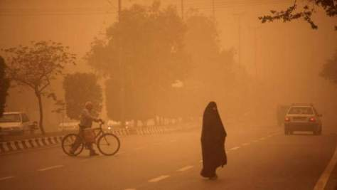 The hottest cities: Sand storm in Ahvaz