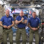 """A """"Happy New Year"""" Message from the International Space Station"""