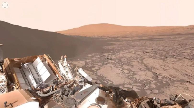 Mars surface (NASA, Curiosity)