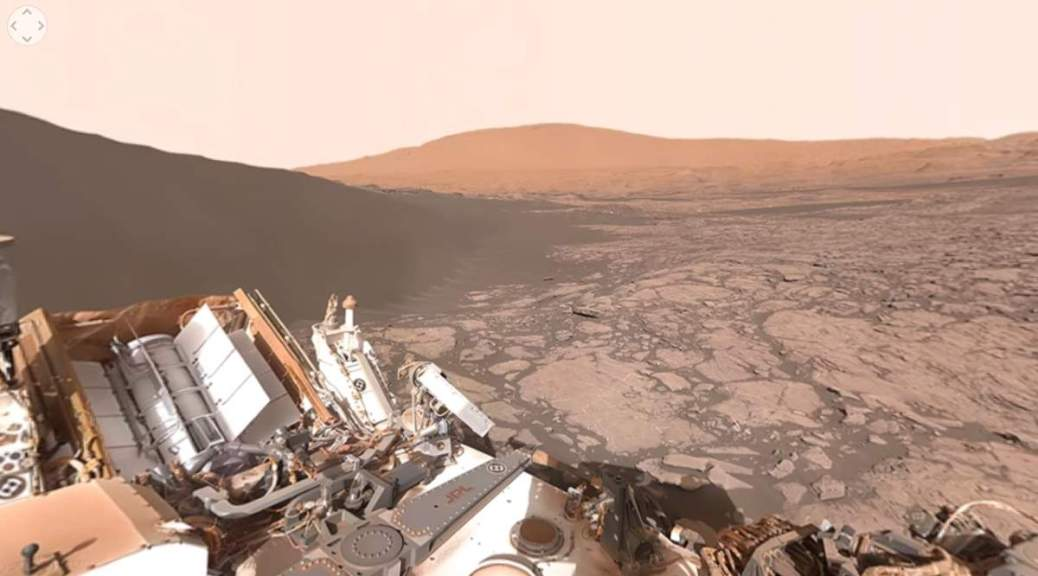 Mars surface (NASA, Curiosity)