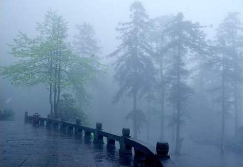Wettest places on Earth 10: Rain on Mount Emei