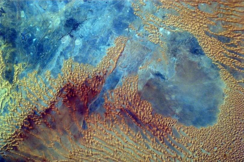 International Space Station, Sahara Desert from Sally Ride EarthKAM (October 3, 2016)