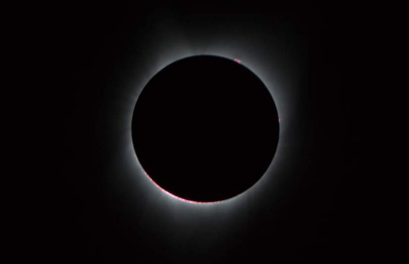 Sun's corona during 2017 Total Solar Eclipse