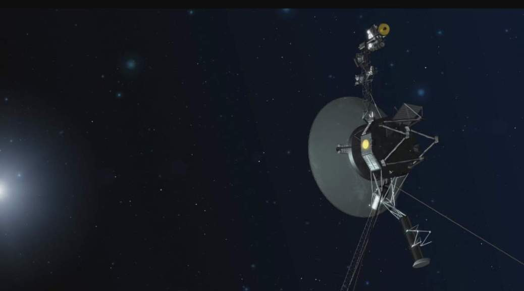Voyager-1 in Deep Space (Artist's Concept)