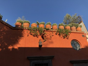 Terraces of san Miguel de Allende