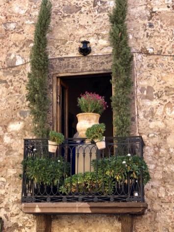 Lovely doors and windows of San Miguel de Allende