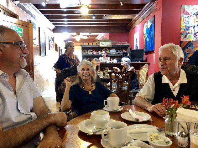 Glenn, Marcia and Stanley